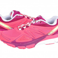Adidasi alergare dama Salomon X Scream 3D W hot-pink-purple-white 368966