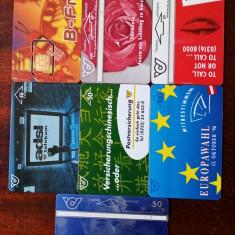 Cartele telefonice Austria - 26 bucăți.