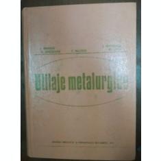 Utilaje metalurgice- I. Oprescu, R. Gheorghiu