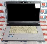 Laptop Fujitsu Pi 3560 Intel T6600 2.20 GHz 4GB DDR3 HDD 160GB DVD-RW 15.6 inch, Intel Core 2 Duo, 4 GB, 160 GB