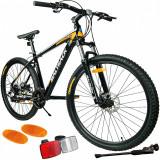 Cumpara ieftin Bicicleta mountain bike, BIG BOSS, cadru aluminiu, roata 29 inch, latime 2.1'', 24 viteze Shimano, frane pe disc, MALTRACK