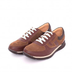 Pantofi sport barbati din piele naturala, VIC3200