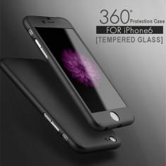 Husa 360 pentru iPhone 6/6s - Negru