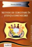 Metode de cercetare in stiinta comunicarii - Antonio SANDU
