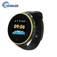 Ceas Smartwatch Pentru Copii Twinkler TKY-S669 cu Functie Telefon, Localizare GPS, Camera, Pedometru, SOS, Rezistent la apa - Negru