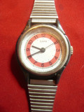 Ceas de mana de dama , mecanic - Zaria - Rusia  d=2,5cm
