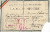 Liga Navala Romana 1927 carte de membru