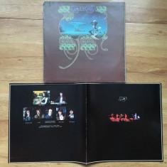 YES - YES SONGS (3LP , 3 Viniluri, 1973, ATLANTIC, Made in UK)  + booklet, VINIL