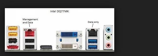 Placa de baza Intel DQ77MK,socket 1155,Gen 2/3,USB 3,SATA3,4 X DDR3 Q77 NOUA