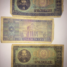 Bancnota 1 suta lei vechii