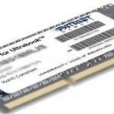 Memorie Laptop Patriot Signature PSD34G1600L2S, DDR3, 1x4GB, 1600MHz, CL11, 1.35V