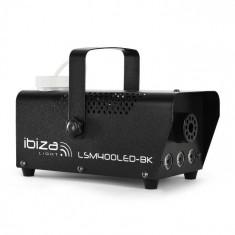 Ibiza LSM400LED-WH, mini dispozitiv pentru producerea de aburi, portocaliu, led