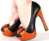 Pantofi eleganti cu toc (Model: A10), 39