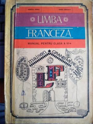 Limba franceză manual pentru clasa a VI-a foto