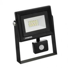 Proiector cu senzor de miscare Horoz PARS/S-10, lumina rece 6400K, 10W, 800lm Mania Tools