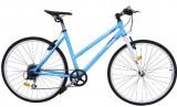 Bicicleta oras Dhs Origin 2896 L albastru 28 inch
