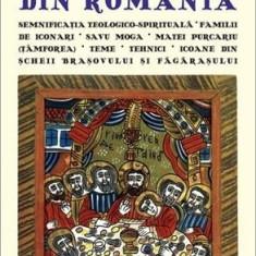 Icoane taranesti pe sticla din Romania / Peasant icons on glass from Romania (mare) |