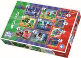 Puzzle clasic pentru copii - Eroi in pijamale 10 in 1