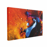 Cumpara ieftin Tablou Canvas Abstract Red 60 x 90 cm, 100% Poliester
