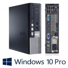 Calculatoare refurbished Dell OptiPlex 9020 USFF, i5-4570S, Win 10 Pro