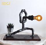 Cumpara ieftin Lampa flamenco steampunkdesigncj, lampa steampunk, corp de iluminat