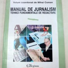 MANUAL DE JURNALISM-MIHAI COMAN 1997