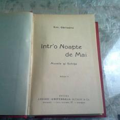 INTR-O NOAPTE DE MAI - EMIL GARLEANU