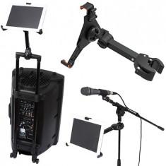 Suport reglabil tableta pentru stand microfon