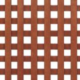 Grila ornamentala de ventilatie, lemn, directia de rulare a stinghiilor 90 grade