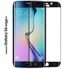 Folie din Sticla 3D Black pentru Samsung Galaxy S6 Edge Plus