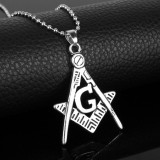 Pandantiv /  Lantisor simbol  masonic