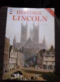 revista vintage cu ilustratii in limba engleza,HISTORIC LINCOLN,T.GRATUIT