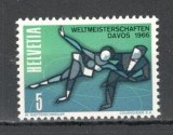 Elvetia.1965 C.M. de patinaj artistic Davos  KE.7, Nestampilat
