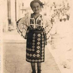 Port popular romanesc copil fotografie veche