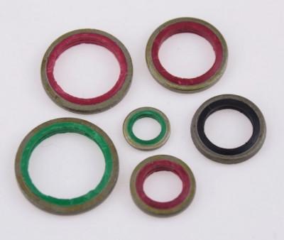 Trusa 100 garnituri oringuri saibe presa hidraulica ulei NBR + metal foto