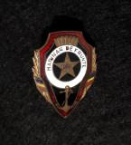 Insigna militara Marinar de frunte - tema fruntas - merite