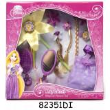Set accesorii pentru par Rapunzel Magical Flower, 3 ani+