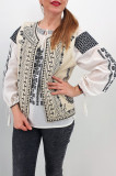 Cumpara ieftin Vesta brodata cu model traditional Angelica