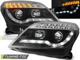 Faruri compatibile cu Opel ASTRA H 03.04-10 DAYLIGHT Negru