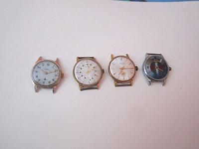 5 ceasuri barbatesti vechi ca defecte 2 buc raketa 1popbeda 1 energic ladita cp foto