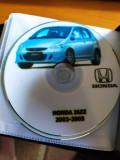 Manual reparatii pentru Honda Jazz  In format electronic (CD)