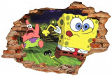 "Sticker ""Wall Crack"" SpongeBob 1 - 120 x 80 cm"