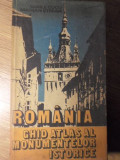 ROMANIA GHID ATLAS AL MONUMENTELOR ISTORICE - VASILE CUCU, MARIAN STEFAN