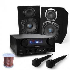 """Electronic-Star Karaoke Set boxe""""Rio Rumble"""", microfon, 400W"""
