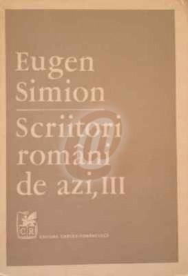 Scriitori romani de azi, vol. 3 foto