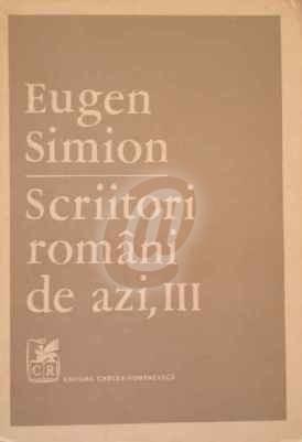 Scriitori romani de azi, vol. 3