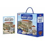 Puzzle Grecia Antica 200 piese cu carte, Sassi