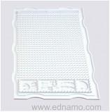 Tava suport din SILICON  pentru bijuterii handmade -dimensiuni : 34 x 22 x 10 cm