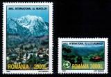 Romania 2002, LP 1587, Anul Muntilor si Ecoturismului, seria, MNH!