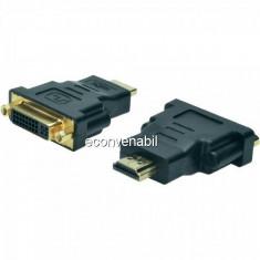 Adaptor HDMI la DVI 24+5 Pini